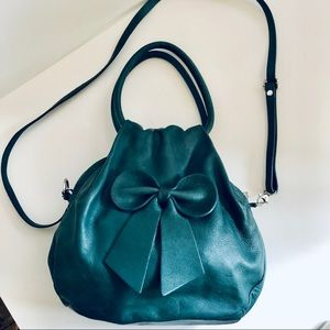 Borse In Pelle Jade Leather Crossbody great cond.